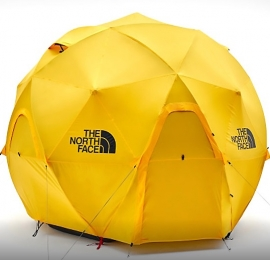 Geodome 4 высотой 2,1 м – новинка в каталоге палаток North Face